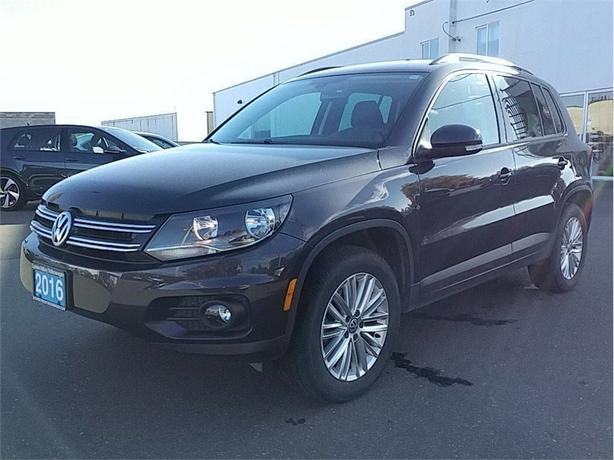 2016 Volkswagen Tiguan 2.0T Special Edition w/4MOTION All Wheel Drive
