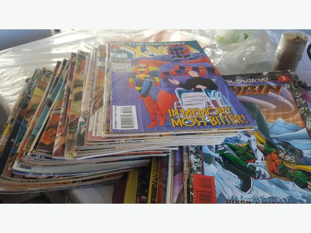 1980th -1990th comics books for sale
