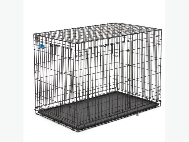 Xl Dog Crate Brand Top Paw Double Door Access And Inside Divider