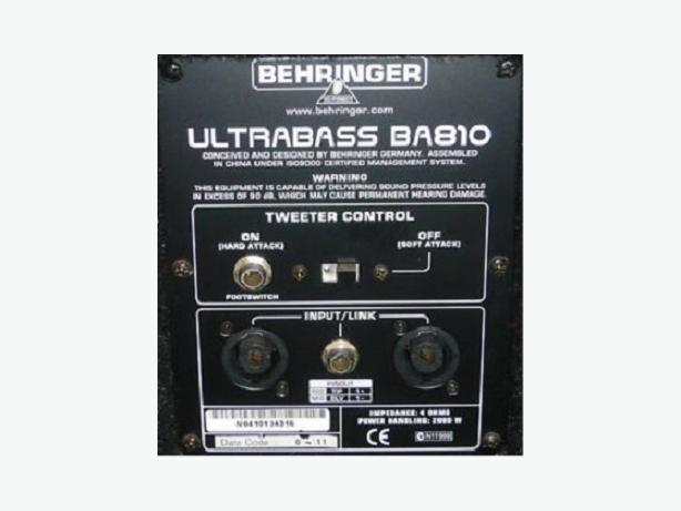 NEW Ultrabass Behringer
