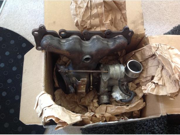 Used Turbo with manifold for LR2