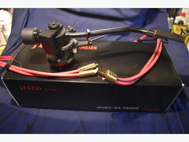 Jelco SA-750DB tonearm