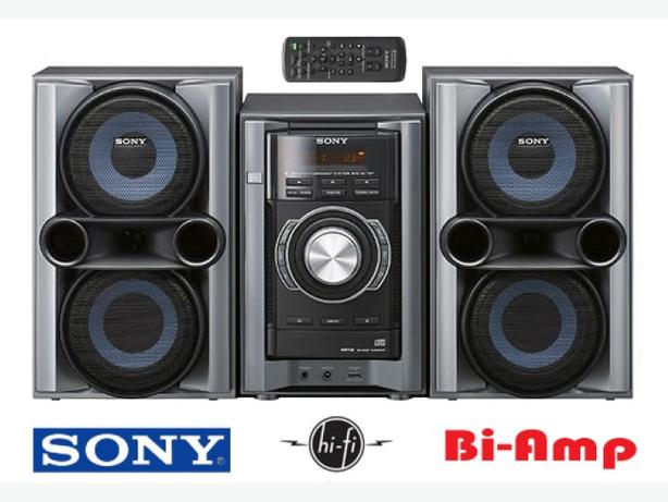 Hi-Fi Shelf System ~ Sony Bi-Amp