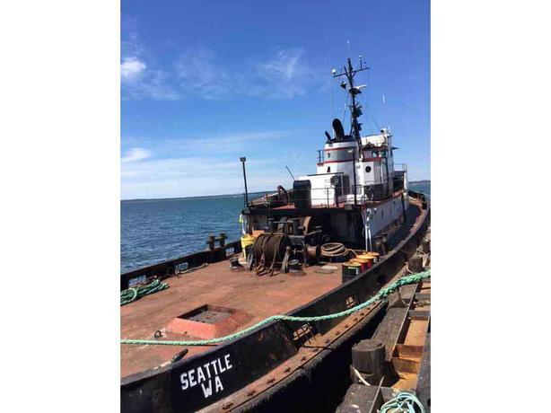 Towing Ocean Tug For Sale - Steel 111' - Jesse