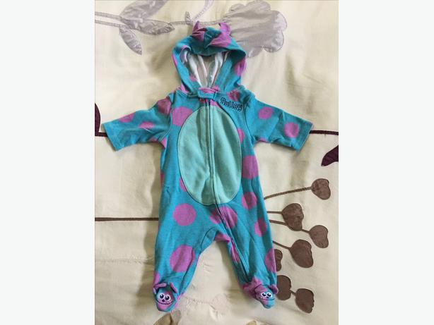 MONSTERS INC SULLY COSTUME 0-3 MONTHS