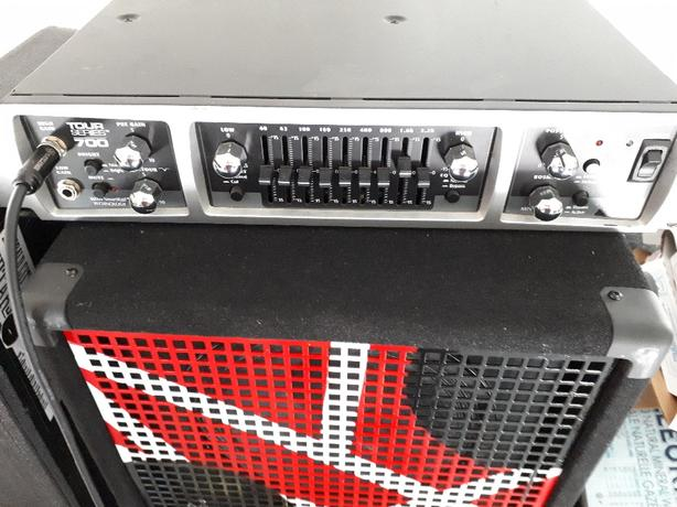 Bass amp and guitar( Victoria Canada)