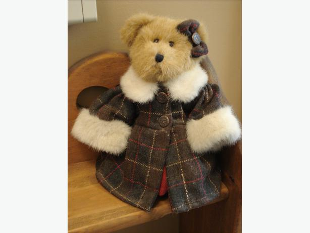 REDUCED- BOYD BEAR HEATHER GOODBEAR