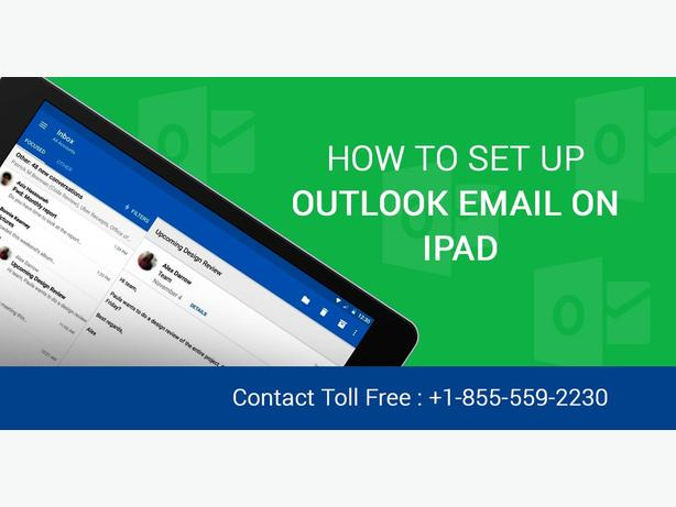 Get Outlook Email Support to setup Outlook Email On iPad