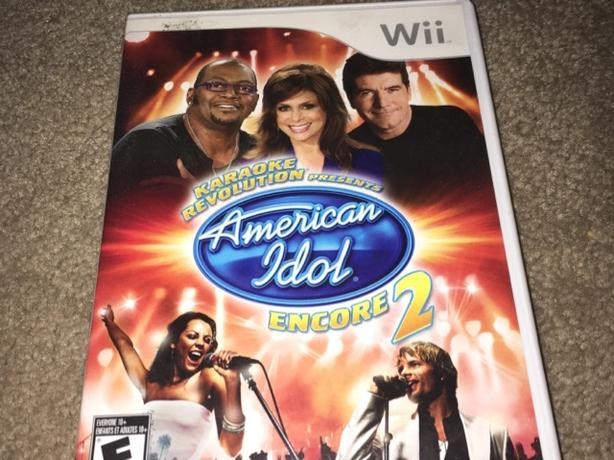 American Idol wii game