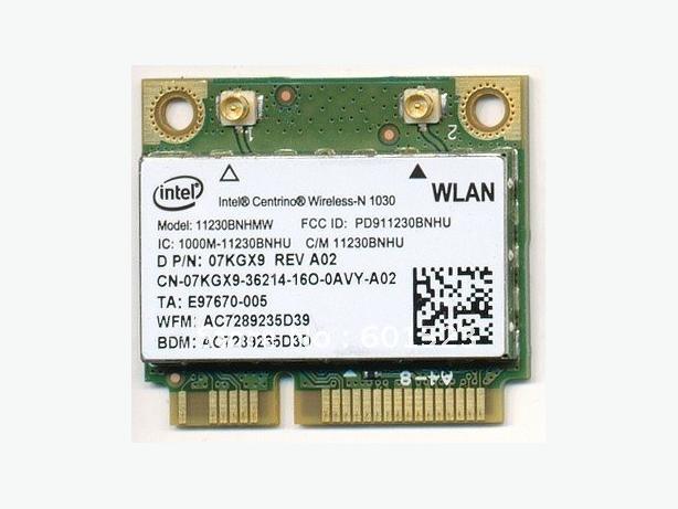 Intel Centrino Wireless-N 1030 card + WIDI + Bluetooth