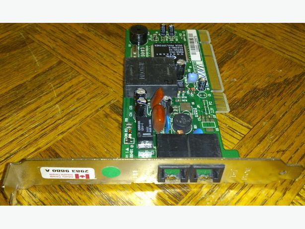 PCI Dialup/Fax Modem cards