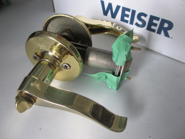 Weiser Bright Brass Lever Passage Sets