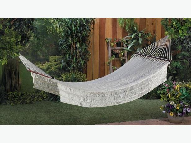 White Rope Hammock Brand New
