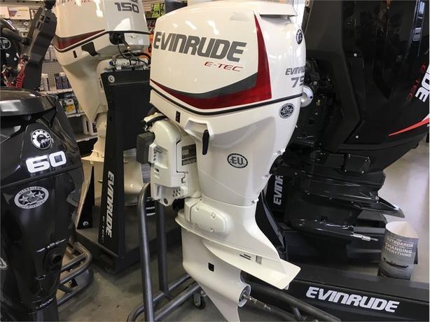 2018 Evinrude E75DSLAF 75HP