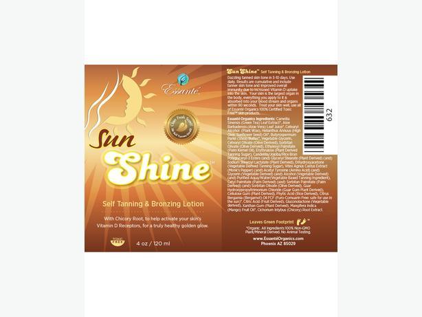 Sun Shine Sunless Tanner