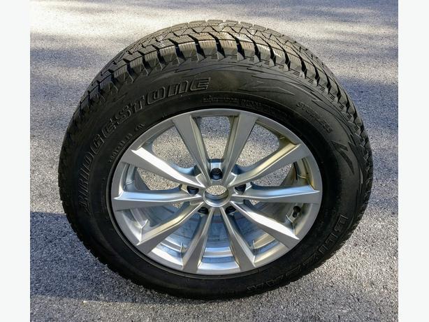 bridgestone blizzak dm  sl winter tires  alloy rims kanata ottawa mobile