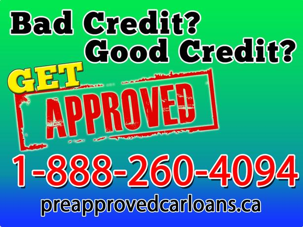 GET APPROVED ANYWHERE IN BC Vehicle Loans