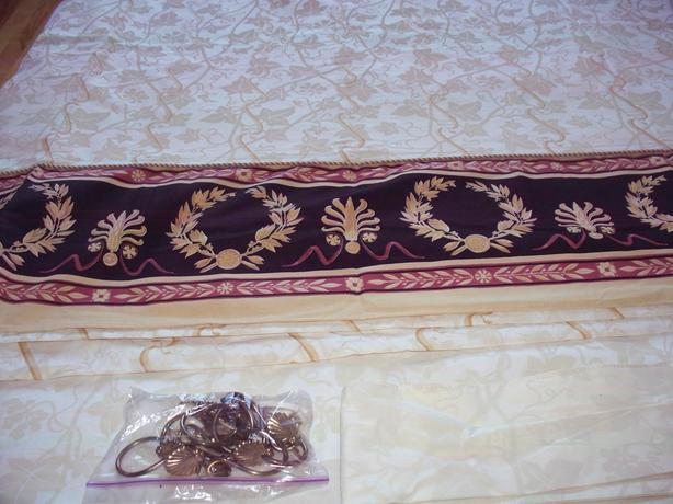 Versace motif curtains