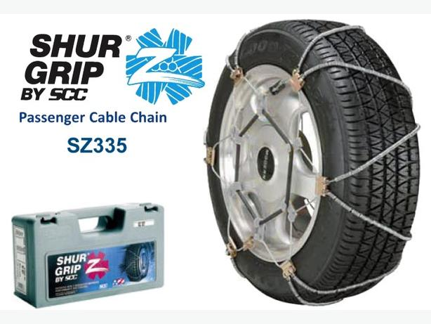Tire Cable Chains ~ NEW
