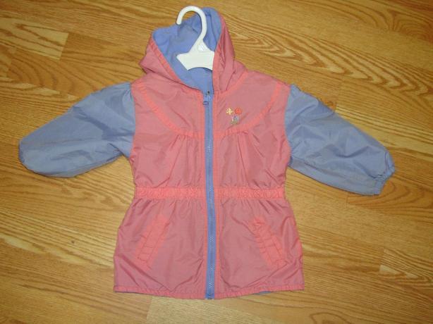 Like New Pink Reversible Coat Fleece Size 2 - $3