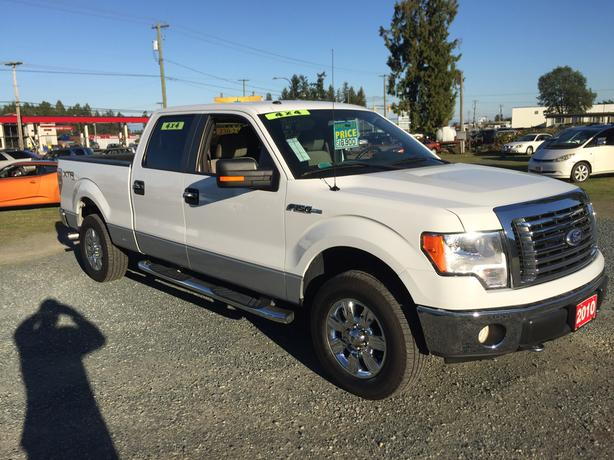 2010 Ford F-150 XLT 4x4 Super Crew XTR Package, 150,048Kms