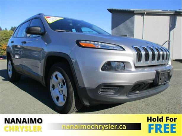 2016 Jeep Cherokee Sport 4x4 One Owner No Accidents