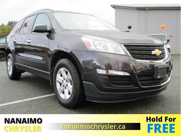 2016 Chevrolet Traverse LS No Accidents Low Kilometers