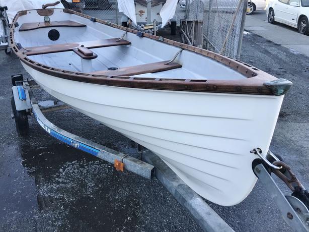 Whitehall Tyee Spirit 14 Sailing Rowboat