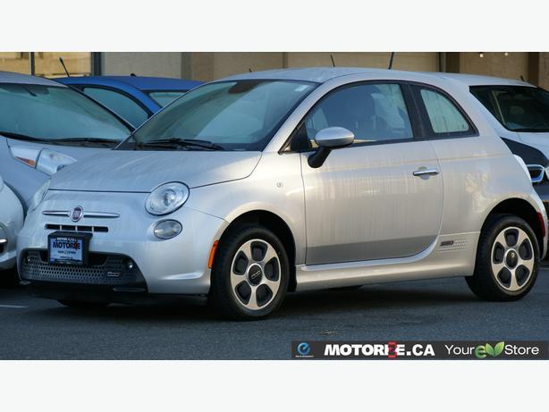 2014 Fiat 500E – Navigation – Bluetooth Handsfree Calling – 21,771Kms STK#M8613