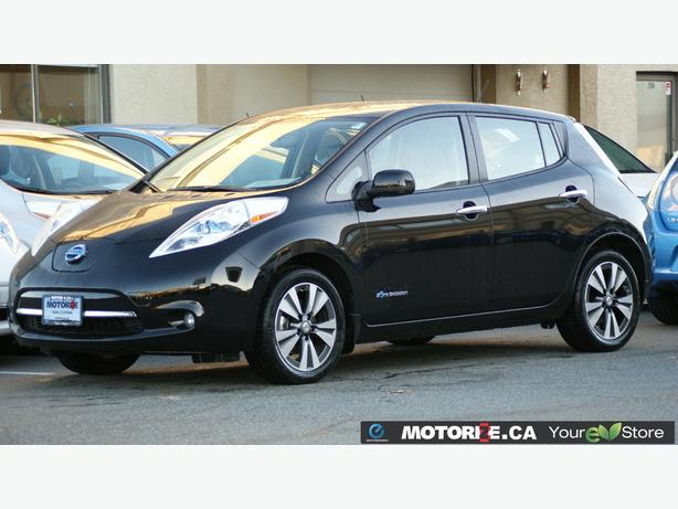 2015 Nissan LEAF SL – Quick Charge Package – Premium Package –  STK#M8629