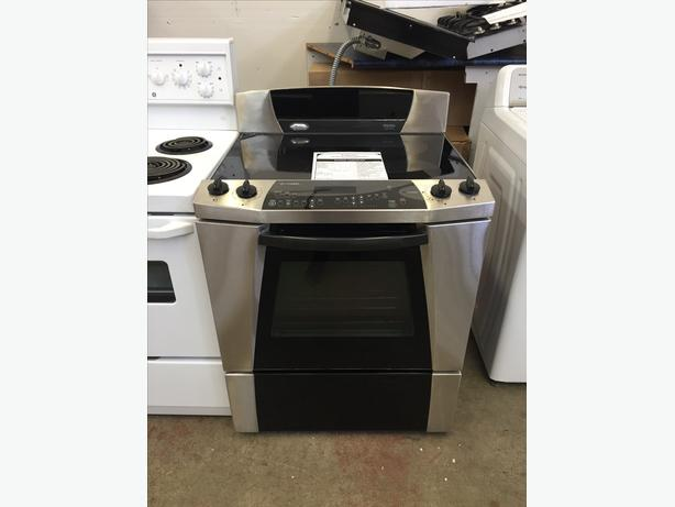 Refurbished Whirlpool Gold Polara Refrigerated Range