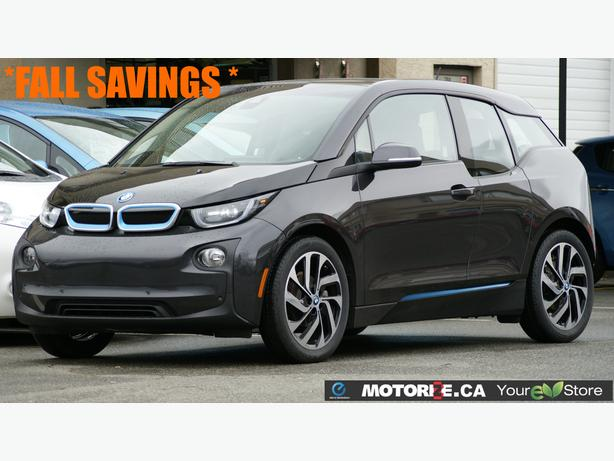 2014 BMW i3 TERA – Quick Charge Package – Tech+Driving/Park Assist – STK#M8583