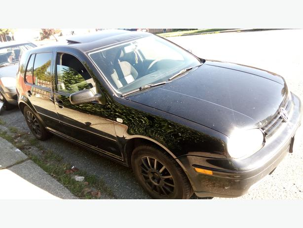 2007 VW Golf City  4 cyl 5 spd