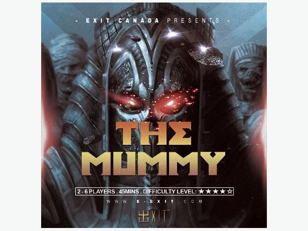 The Mummy at Exit!
