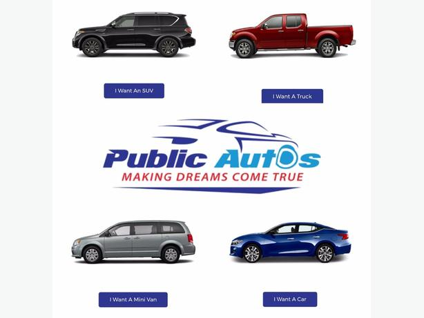 Get YOUR vehicle today!