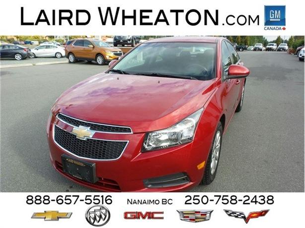 2011 Chevrolet Cruze LT Turbo Automatic, Clean