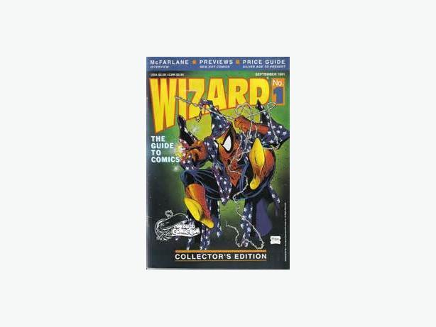 Wizard Comic Price Guides #1-7