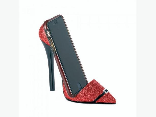 High Heel Shoe Phone Holder Pink Red Black Bulk Buy of 12 Mix&Match