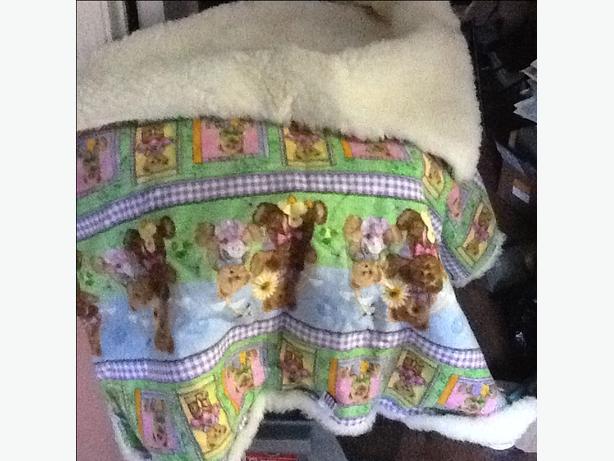 sheepwool baby blanket