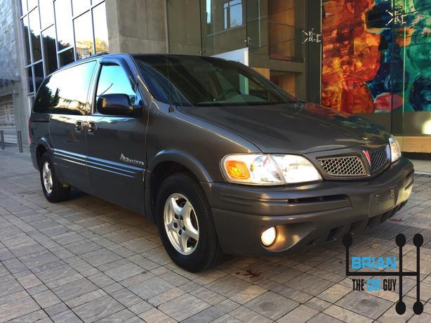 2004 Pontiac Montana 7 passenger van