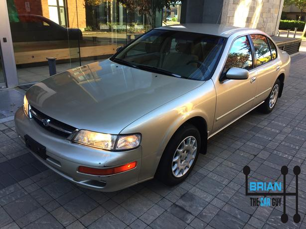 Accident free 1998 Nissan Maxima GLE with only 149K