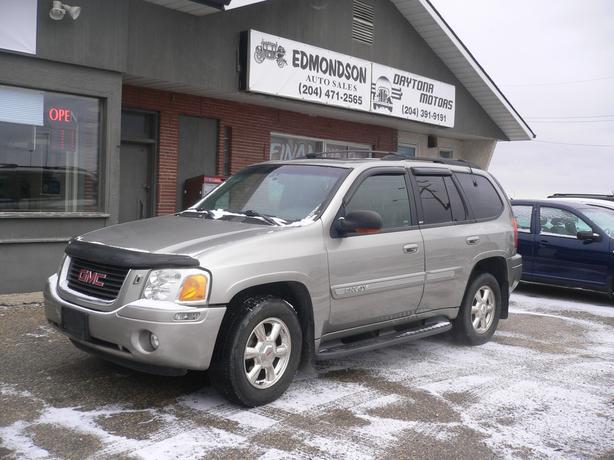 2002  GMC Envoy SLT 4 wheel drive w/ Sunroof