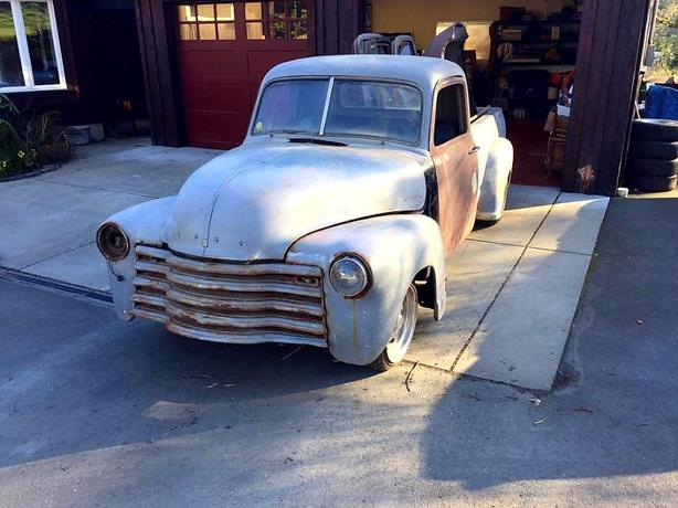 52 Chevy 3100 pickup