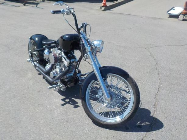 2012 Custom Motorcycle Rigid Pro Street with 240 Fat Rear Tire