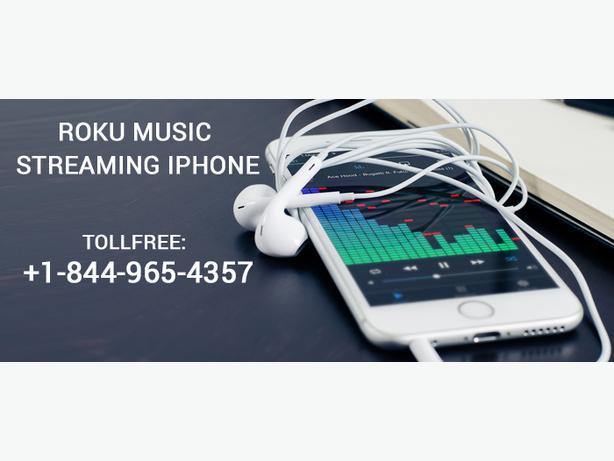 Enjoy Roku Music streaming I phone