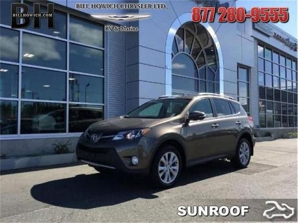2013 Toyota Rav4 Limited - Power Moonroof -  Bluetooth - $167.00 B/