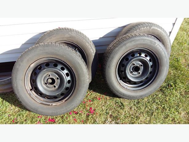 Honda Steel Rims