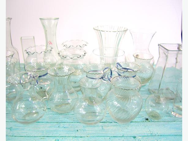 25 Assorted Small Glass Vases Central Saanich Victoria