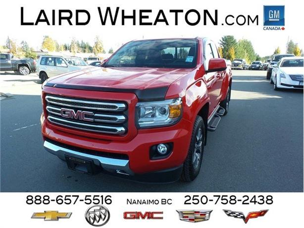 2016 GMC Canyon 4x4 SLE w/ Back-Up Camera and WiFi Hotspot