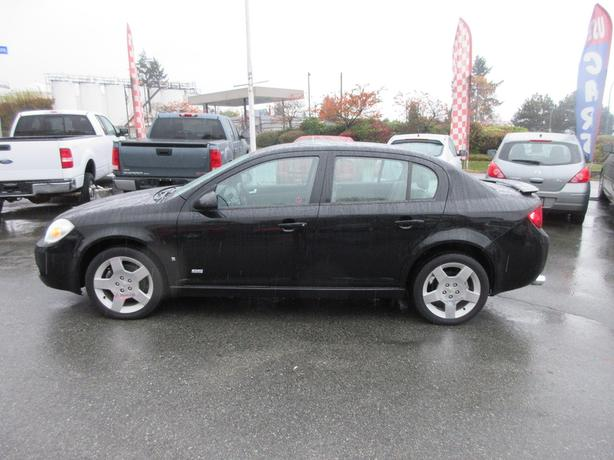 ON SALE! 2006 CHEVROLET COBALT SS 4-DR MANUAL - BC ONLY! ACCIDENT FREE!